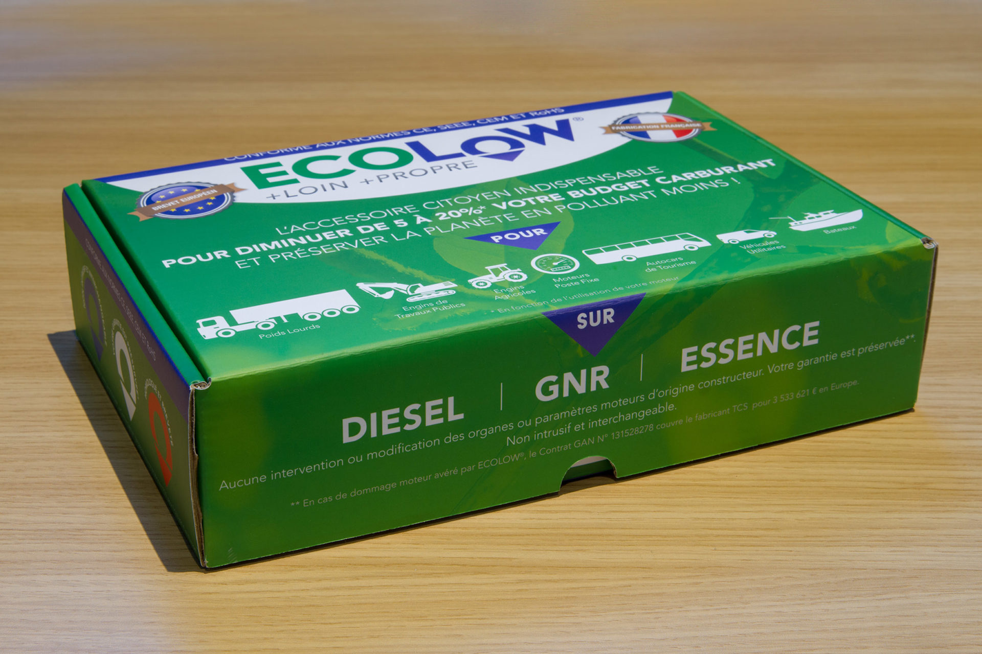Graphisme et création Packaging ECOLOW®