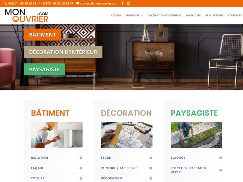 Web Design et graphisme site mti